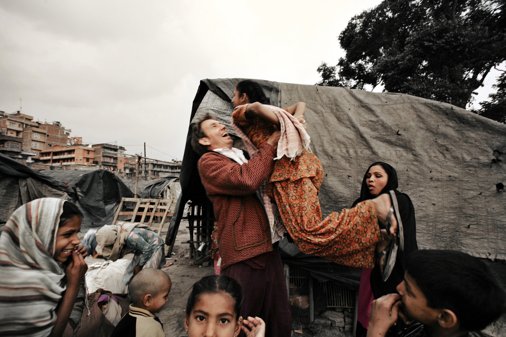 Begging Camp, Katmandu, Nepal